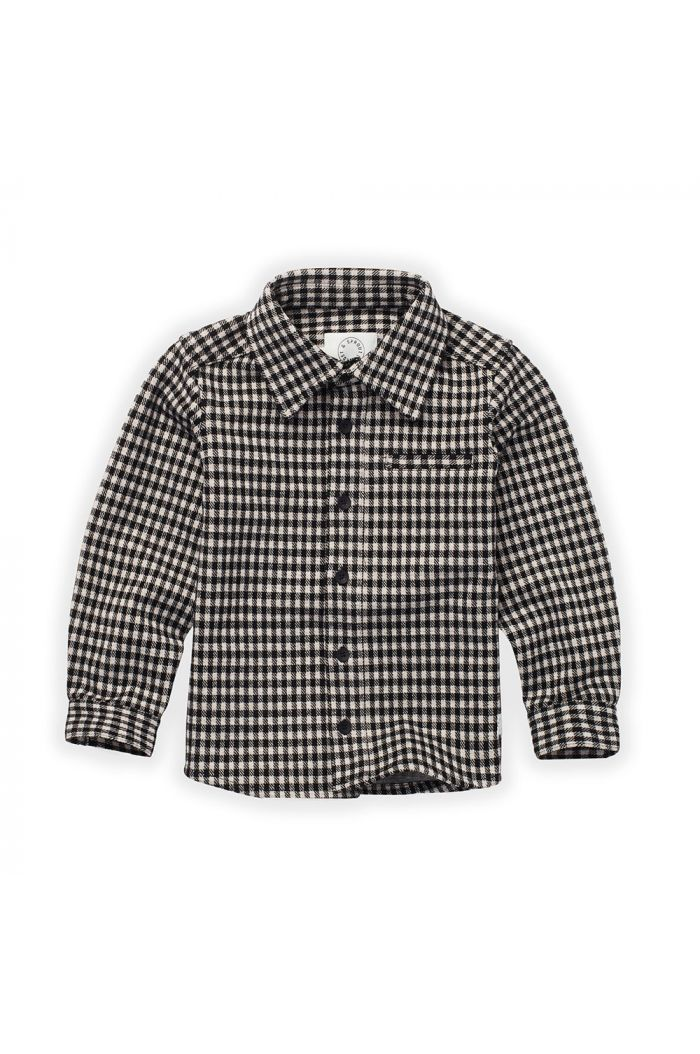 Sproet & Sprout Blouse Block Check Black_1