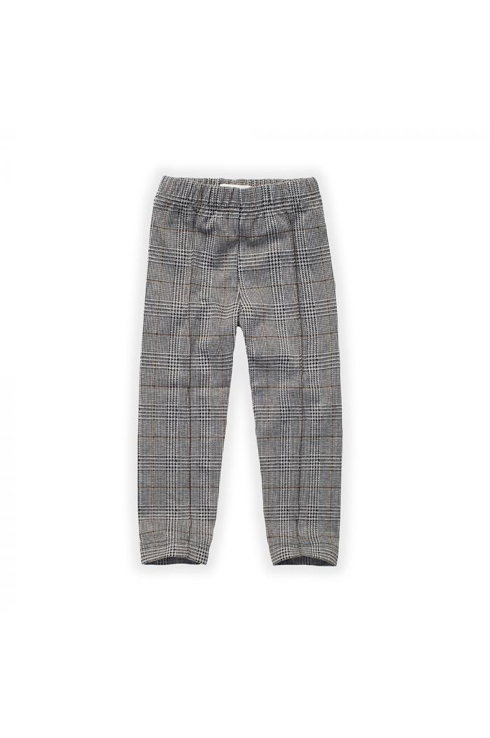 Sproet & Sprout Pants Fine Check Lake Blue_1