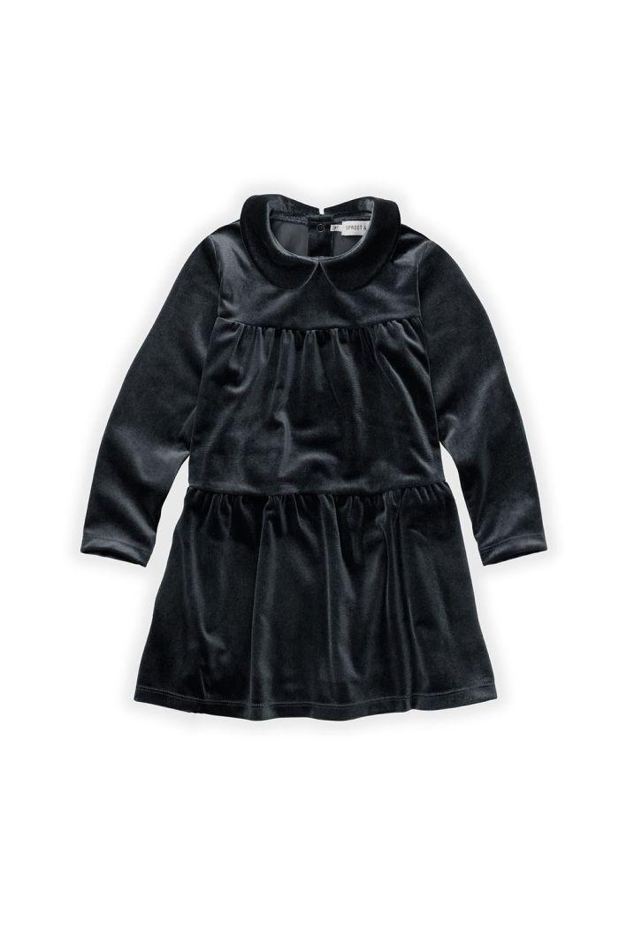 Sproet & Sprout Dress Velvet Black_1
