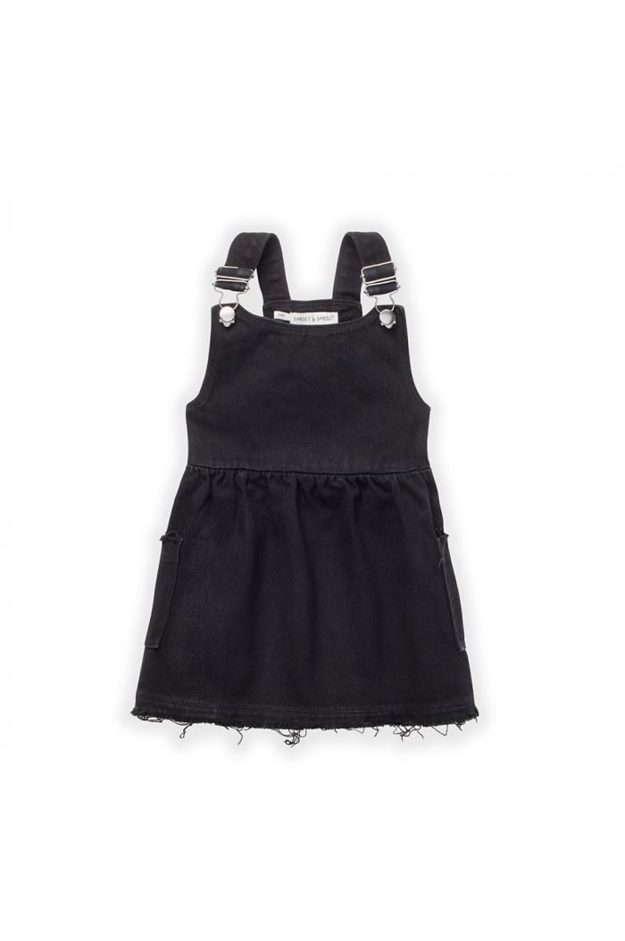 Sproet & Sprout Dress Salopette Black_1