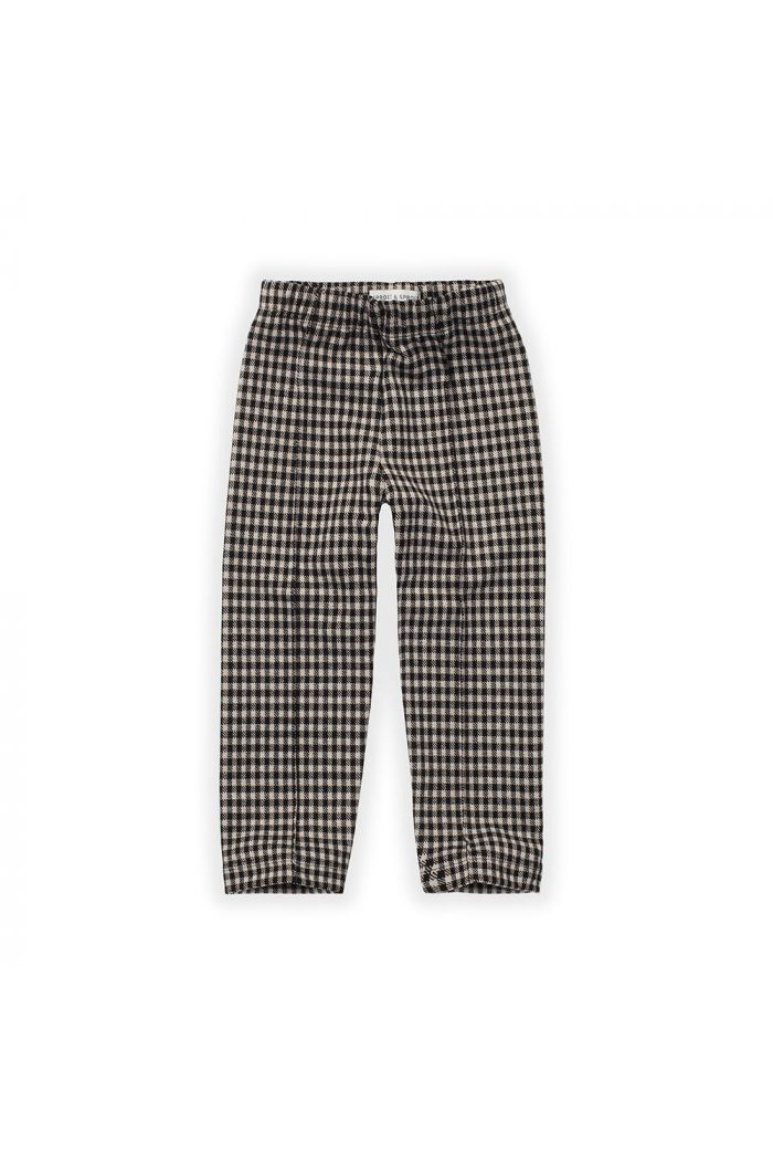Sproet & Sprout Pant Block Check Black_1