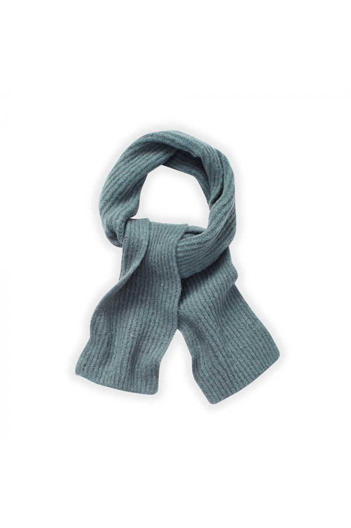 Sproet & Sprout Knitted Scarf Lake Blue_1