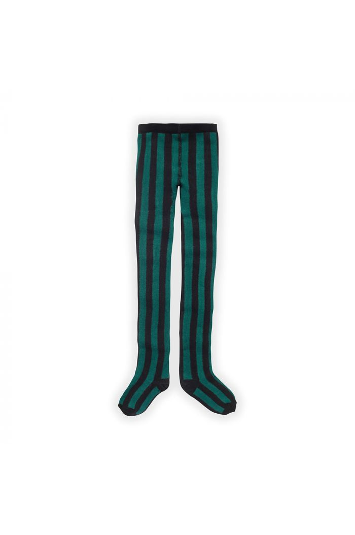Sproet & Sprout Tight Stripe Pine Green_1