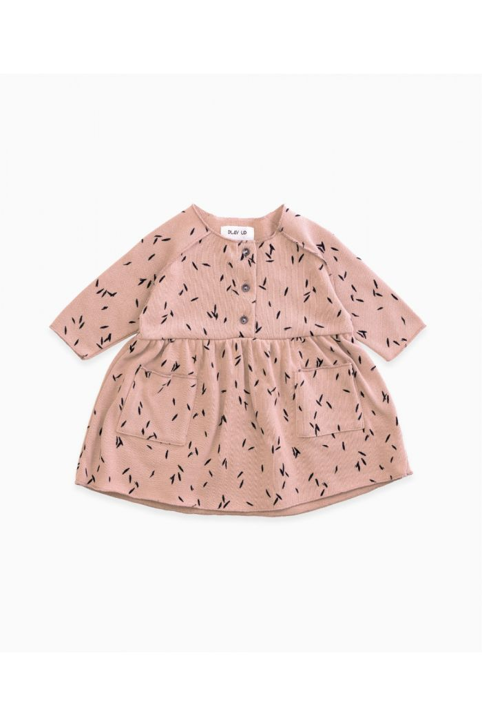 Play Up Baby Jersey Dress  Purplewood