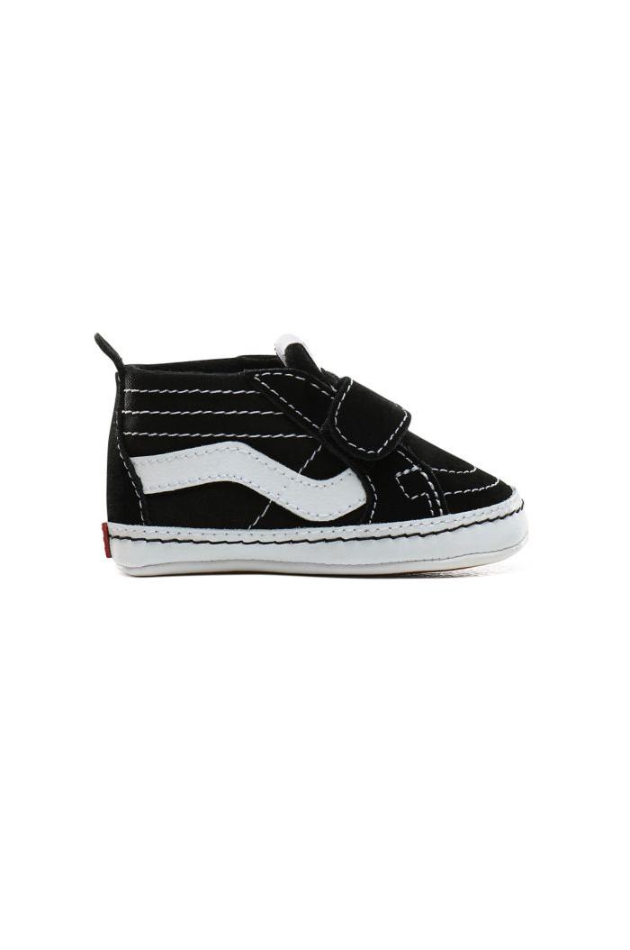 Vans Infant SK8-Hi Crib Black/True White_1