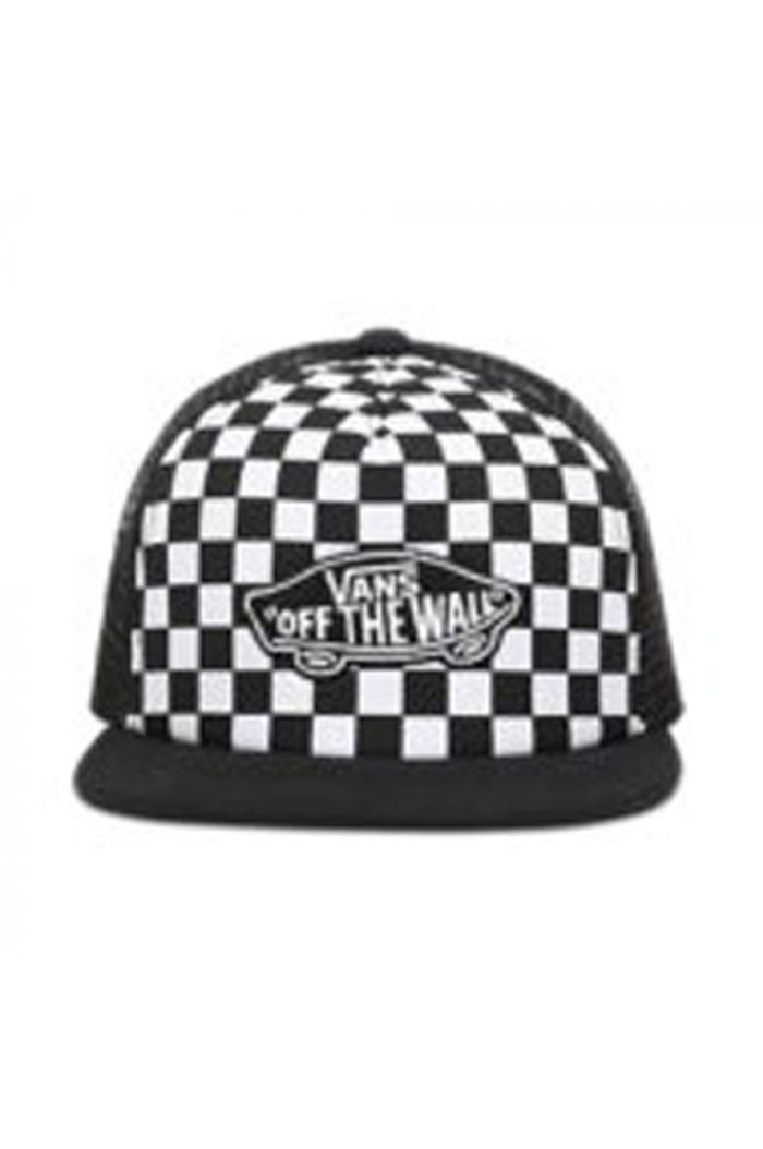 Vans By Classic Patch Trucker Plus Black/White Checkerboard_1