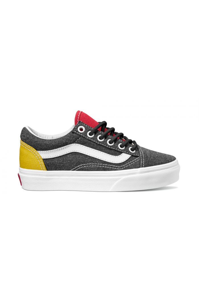 Vans Youth Old Skool (Vans Coastal) Black/True White
