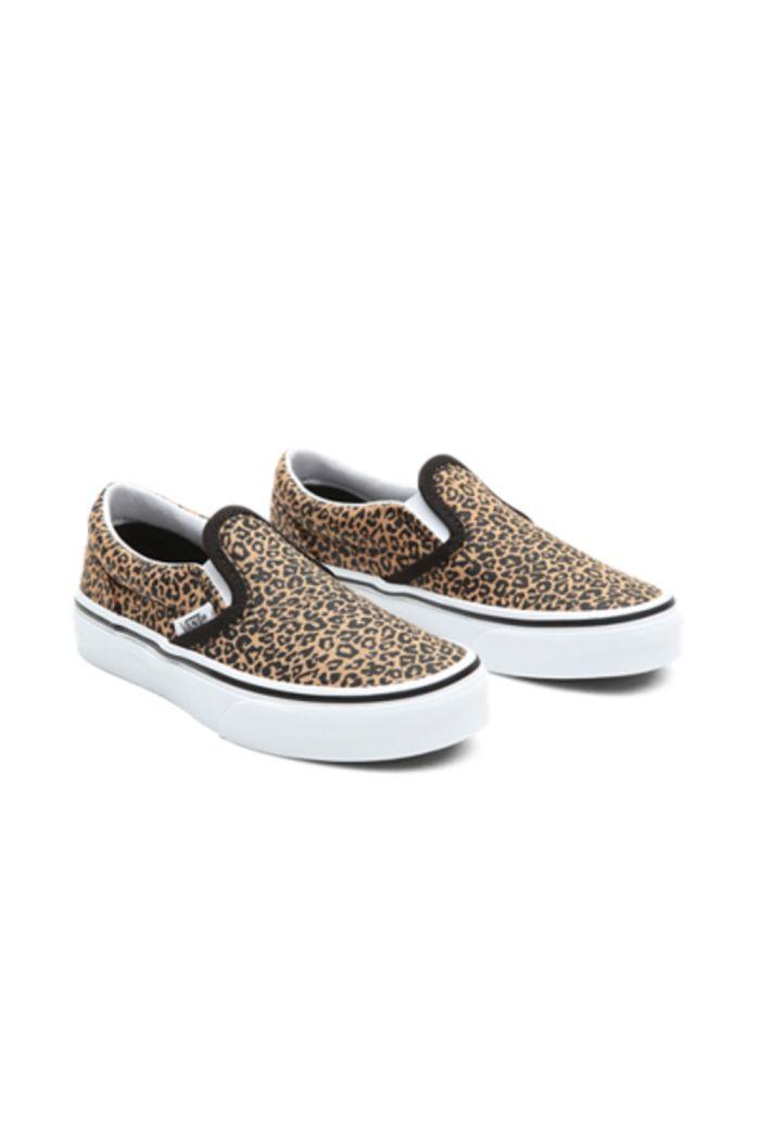 Vans Youth Classic Slip-On Leopard/Black_1