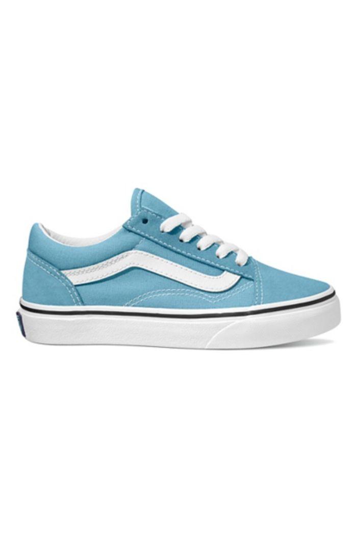 Vans Youth Old Skool Delphinium Blue/True White_1