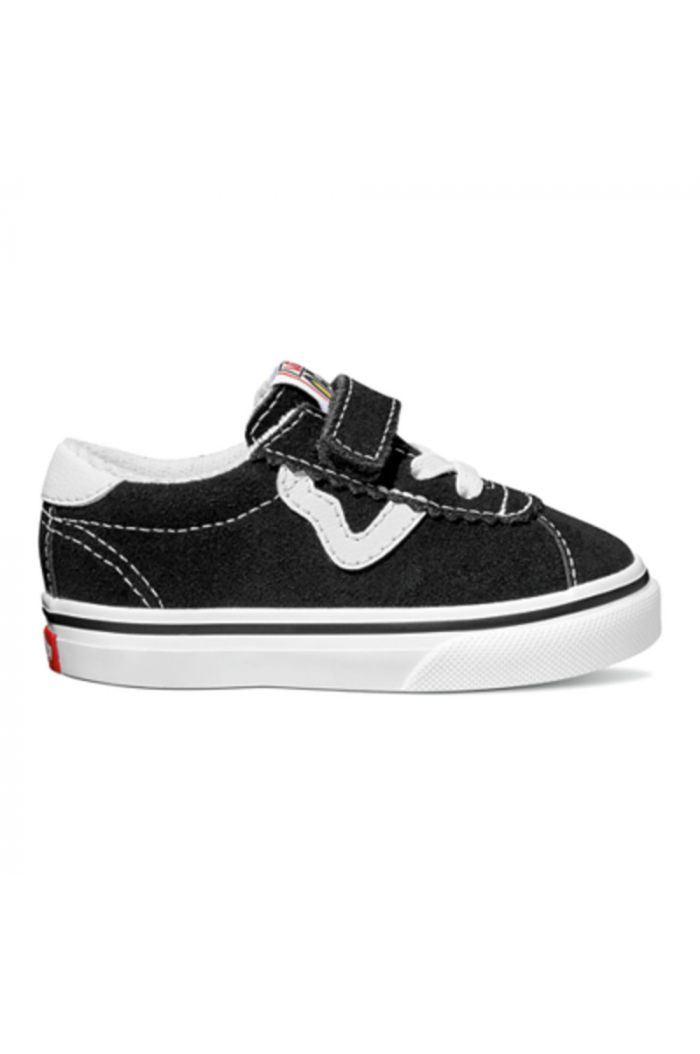Vans Toddler Vans Sport V Black/True White_1