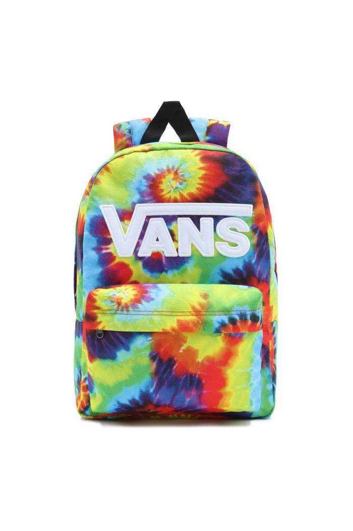 Vans New Skool Backpack Boys Tie Dye _1