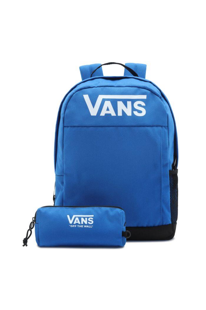 Vans Skool Backpack Boys Blue _1