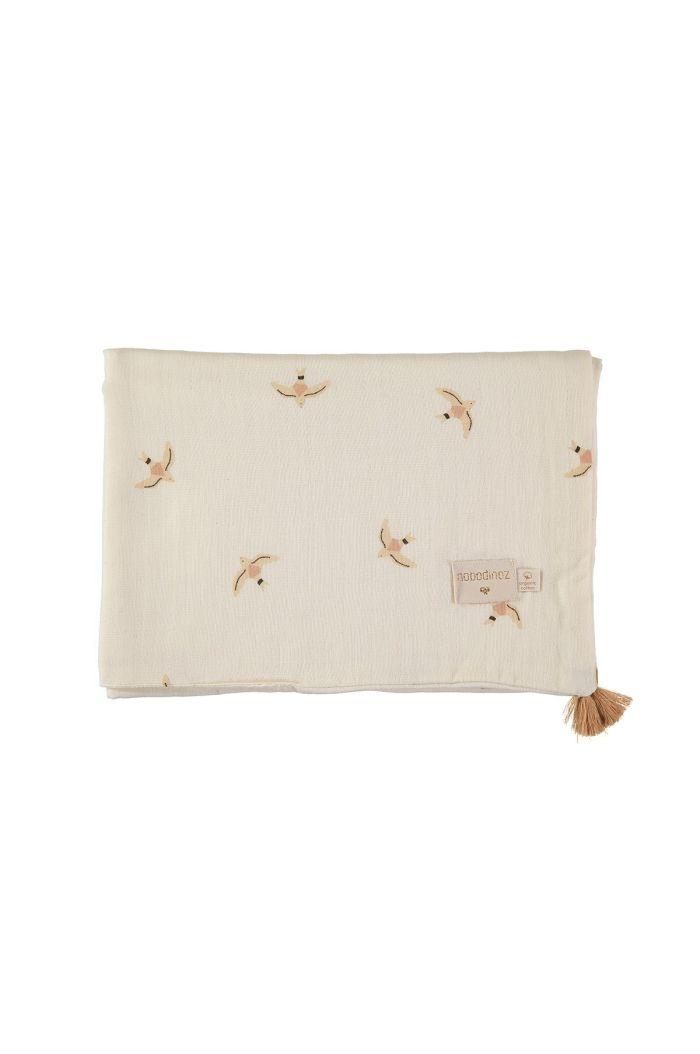 Nobodinoz Treasure Summer Blanket 100x70 _1