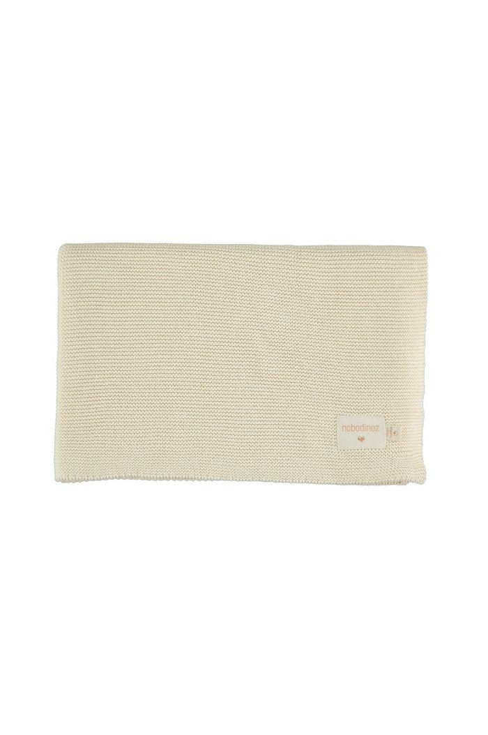 Nobodinoz So Natural Knitted Baby Blanket 70x90 Natural