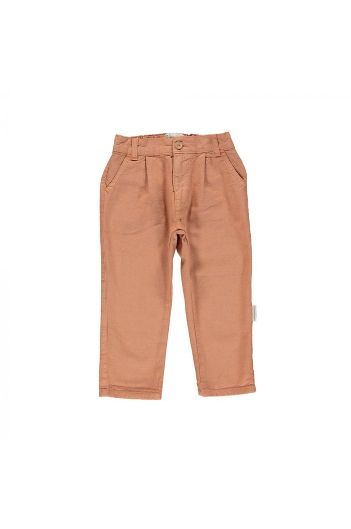 Piupiuchick Unisex trousers pecan nut_1
