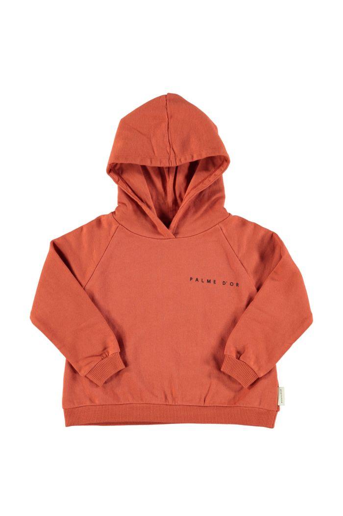 Piupiuchick Hooded Sweatshirt Garnet With Print_1