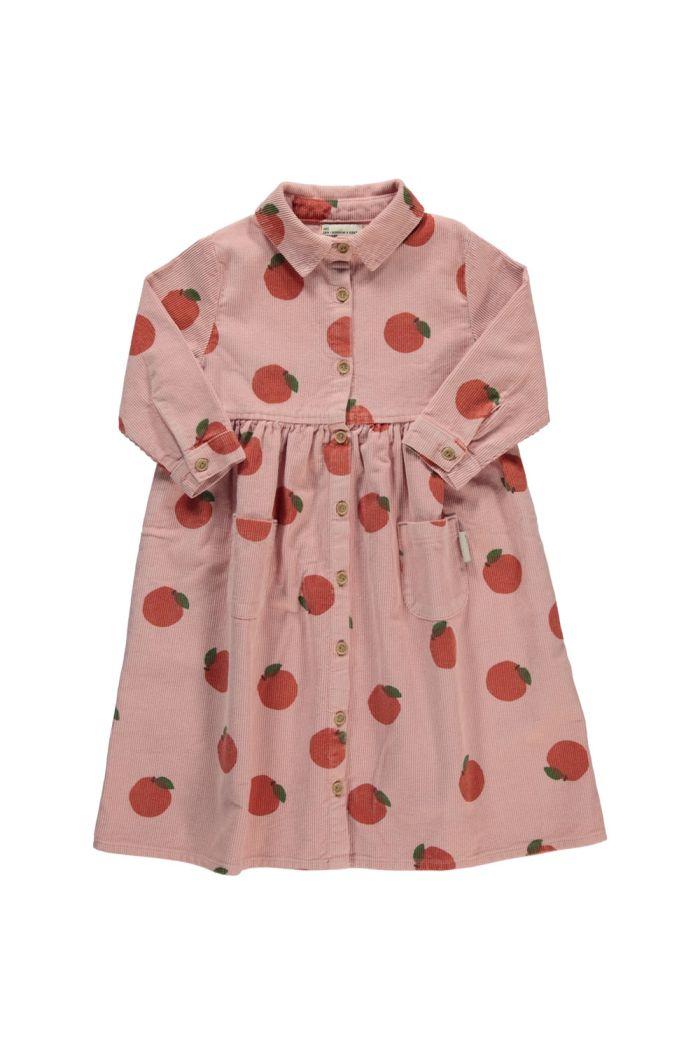 Piupiuchick Long Shirt Dress Ligth Pink_1