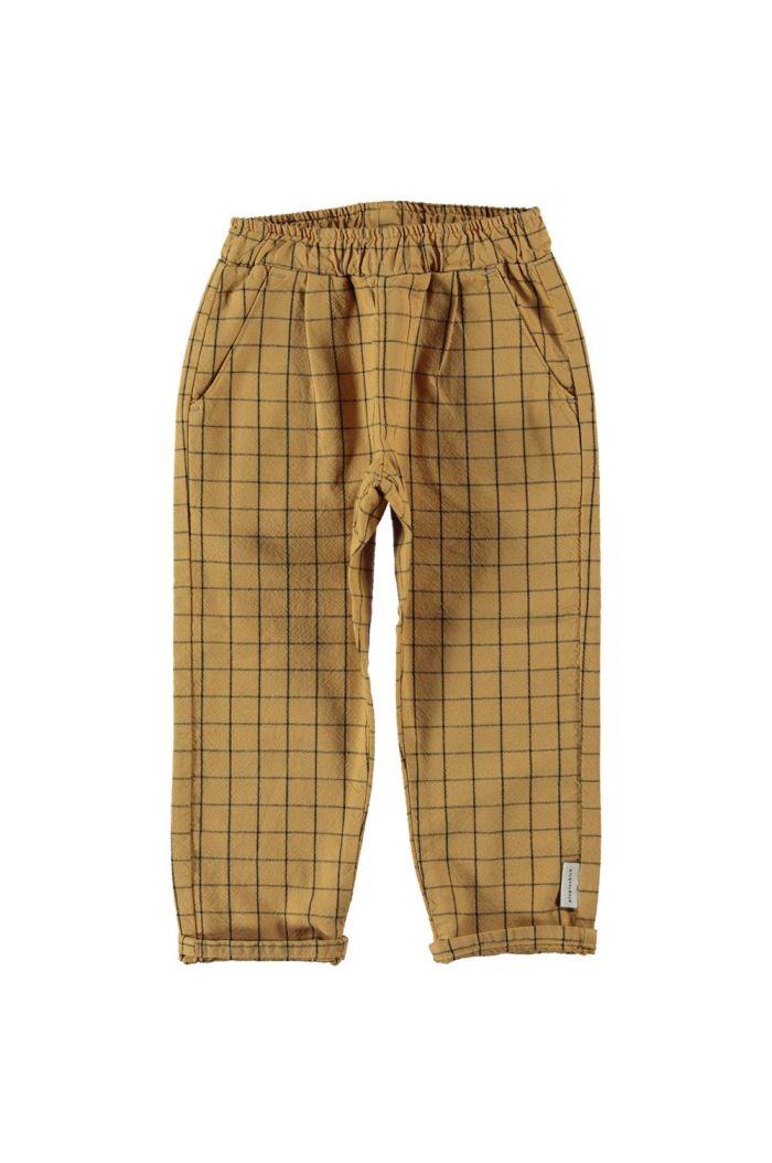 Piupiuchick Unisex Trousers Camel_1
