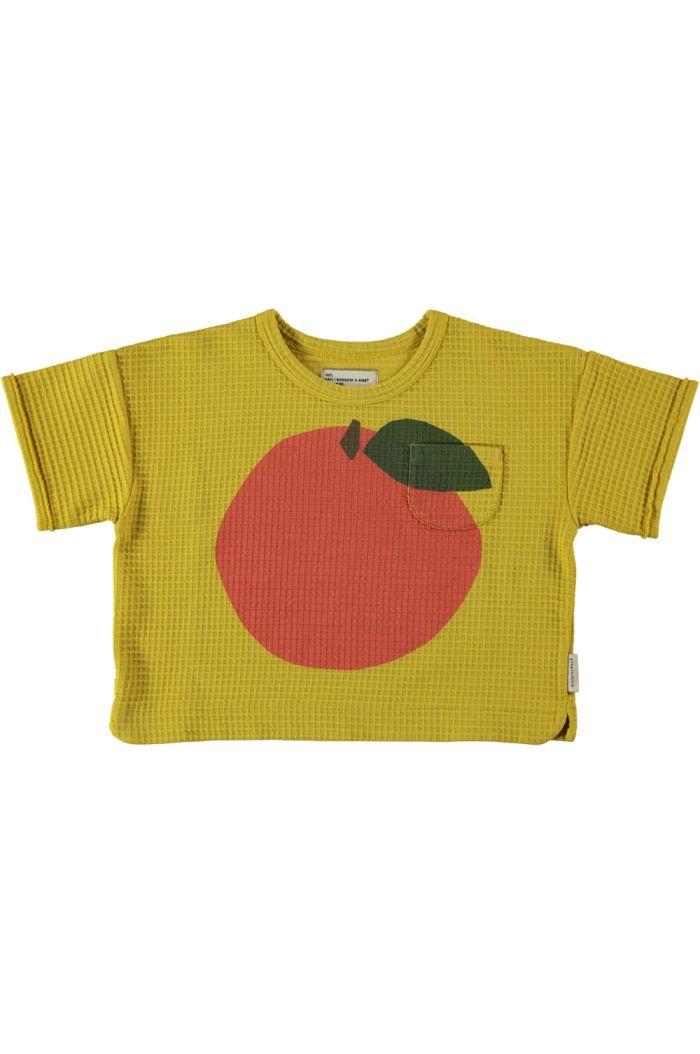 Piupiuchick Honeycomb T-Shirt Mustard_1