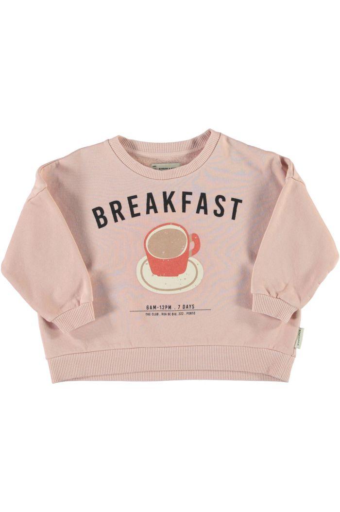 Piupiuchick Unisex Sweatshirt Light Pink_1