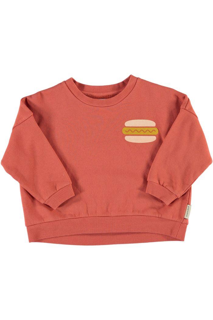 Piupiuchick Unisex Sweatshirt Brick_1