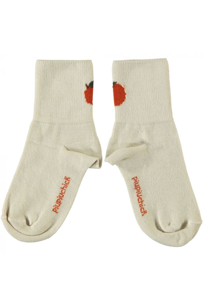 Piupiuchick Short Socks Ecru_1
