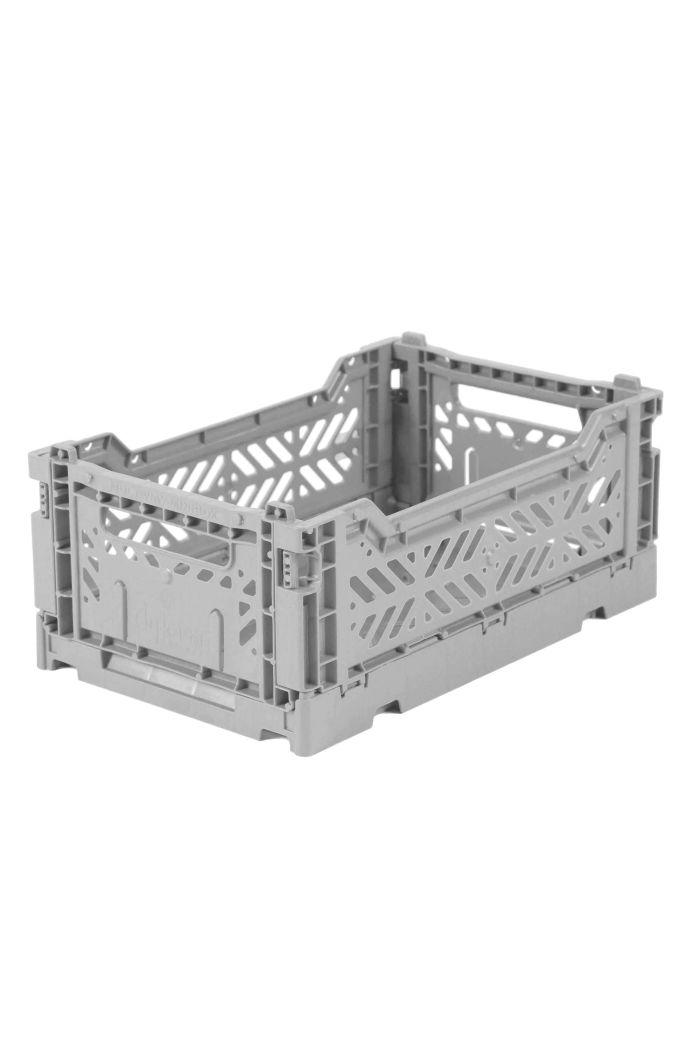 Ay-Kasa Folding Crates Grey