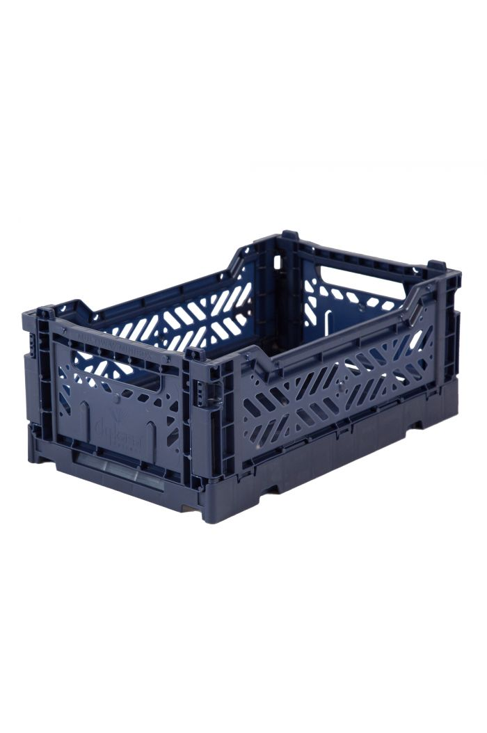 Ay-Kasa Folding Crates Navy