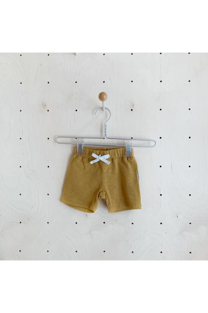 Broer & Zus Shorts Mustard