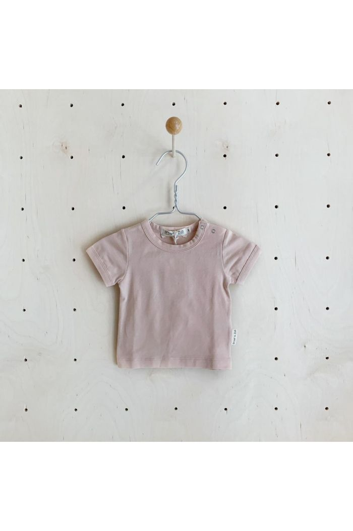Broer & Zus T-shirt short Sleeve Nude
