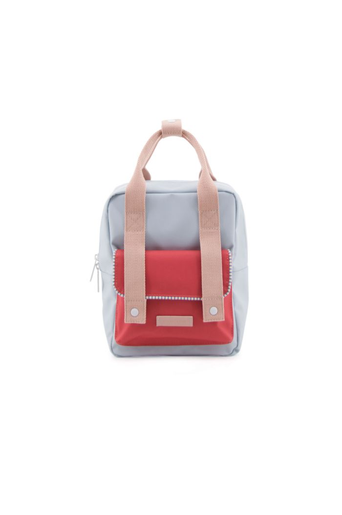 Sticky Lemon Small backpack envelope deluxe agatha blue | elevator red | mendl's pink