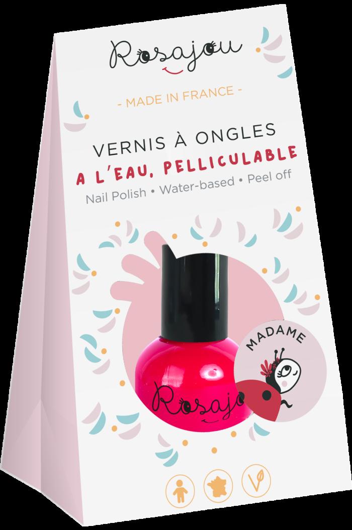 Rosajou Nail Set Madame Rood _1