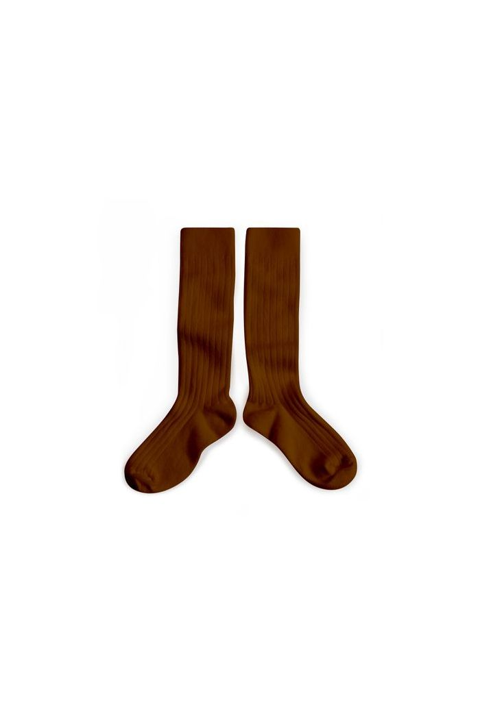 Collegien Knee High Socks Noix de Caroube