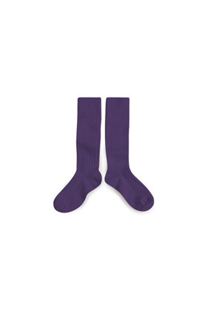 Collegien Knee High Socks Iris de Provence