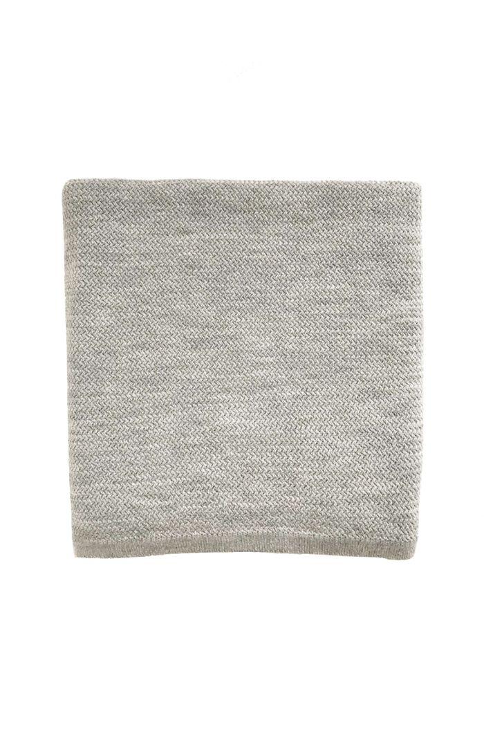 Hvid Blanket Coco Grey Melange_1