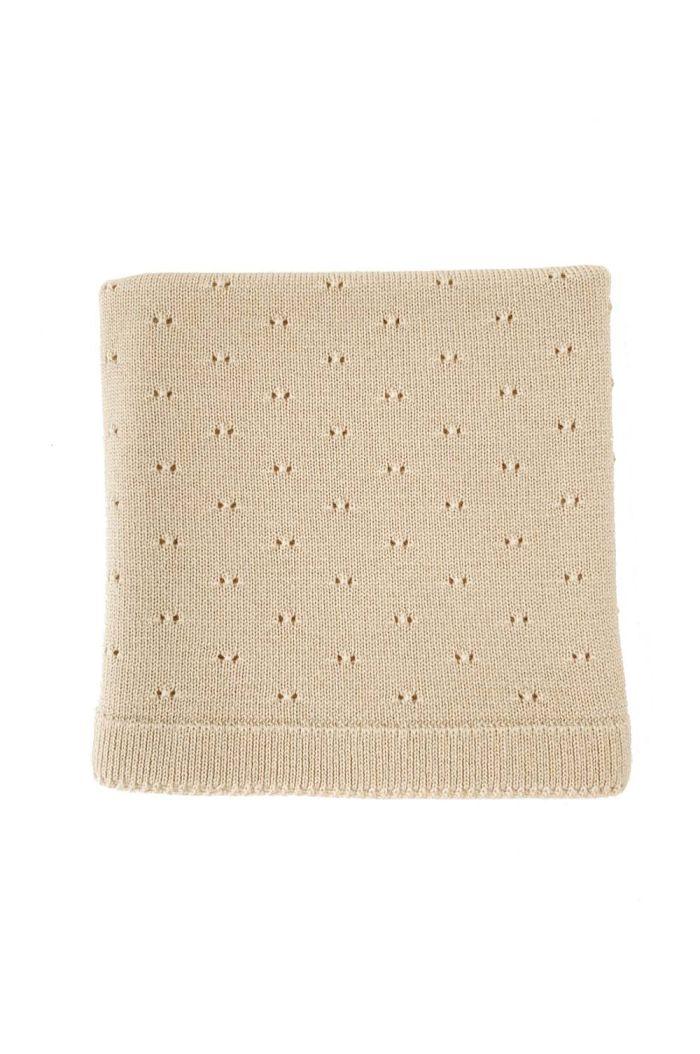 Hvid Blanket Bibi Oat_1