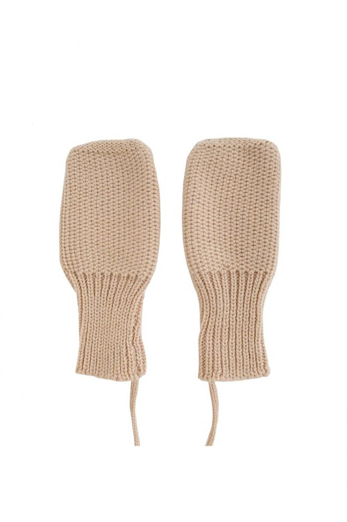 Hvid Mittens Apricot