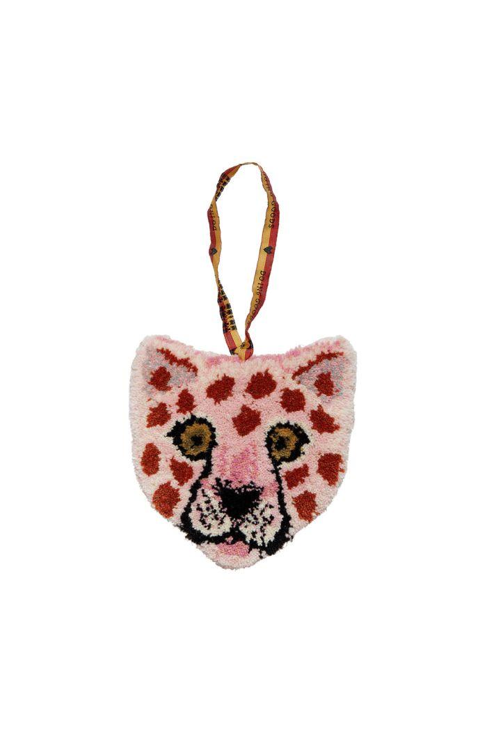 Doing Goods Pinky Leopard Cub Hanger _1