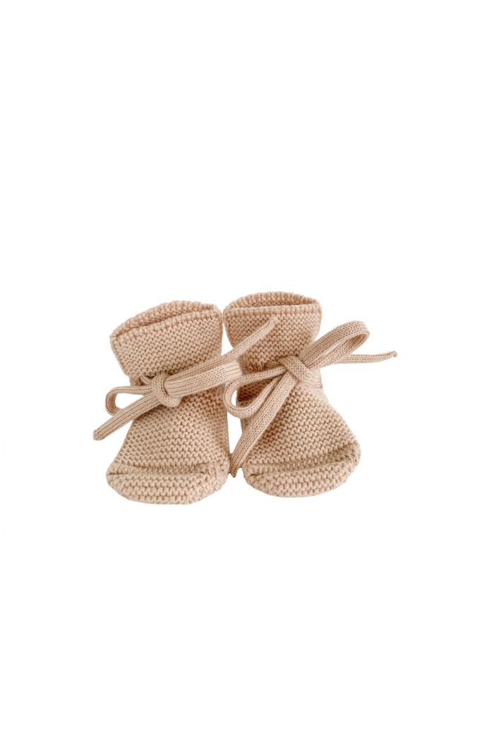Hvid Booties Apricot
