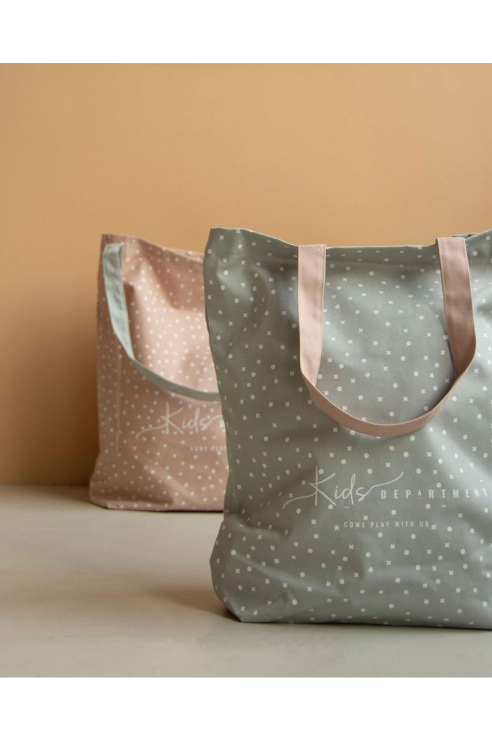 Kids Department canvas tas groen _1