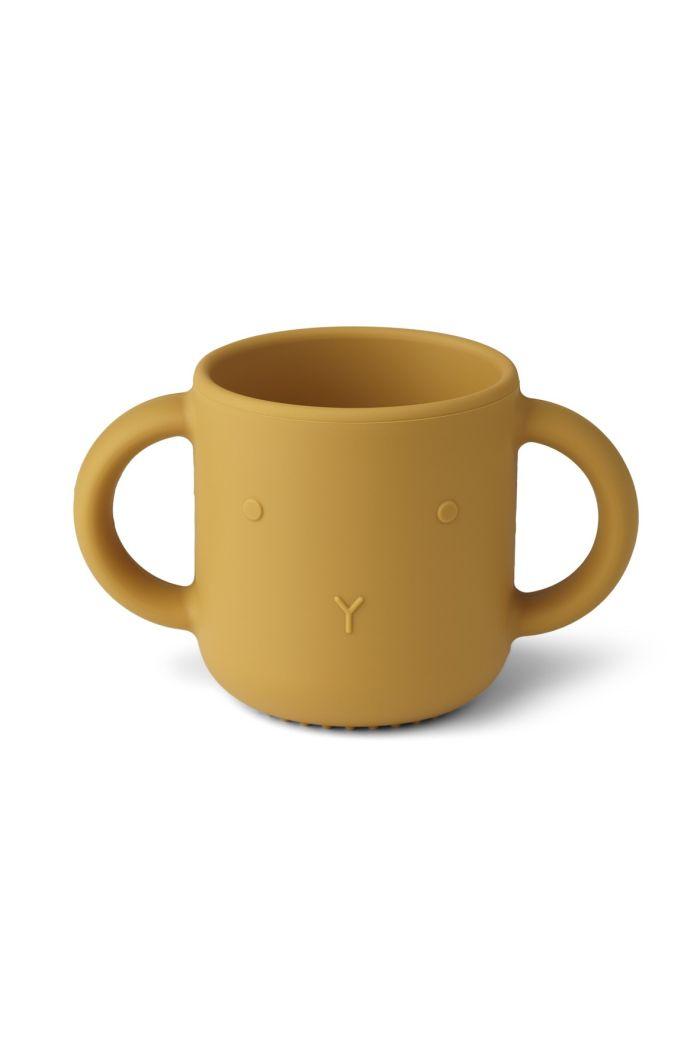 Liewood Gene cup Rabbit Mustard_1