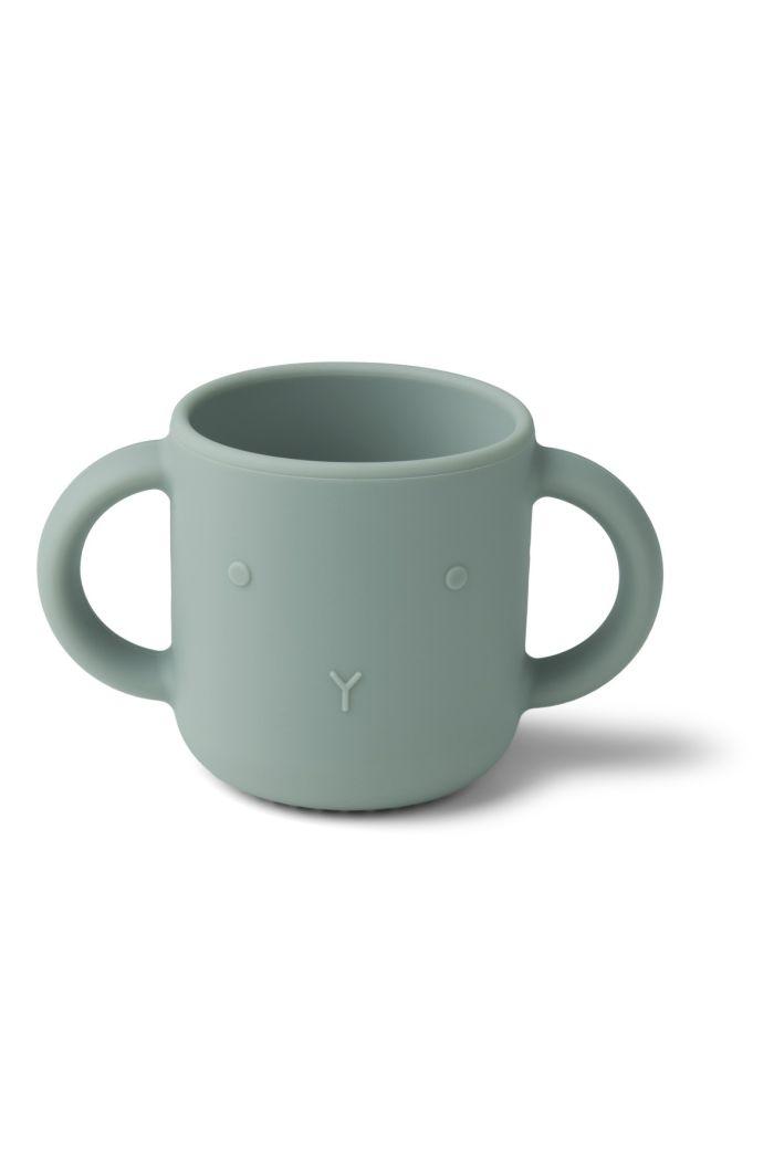 Liewood Gene cup Rabbit Faune Green_1