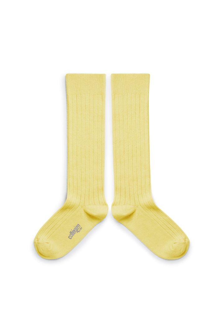 Collegien Knee High Socks Vanille_1
