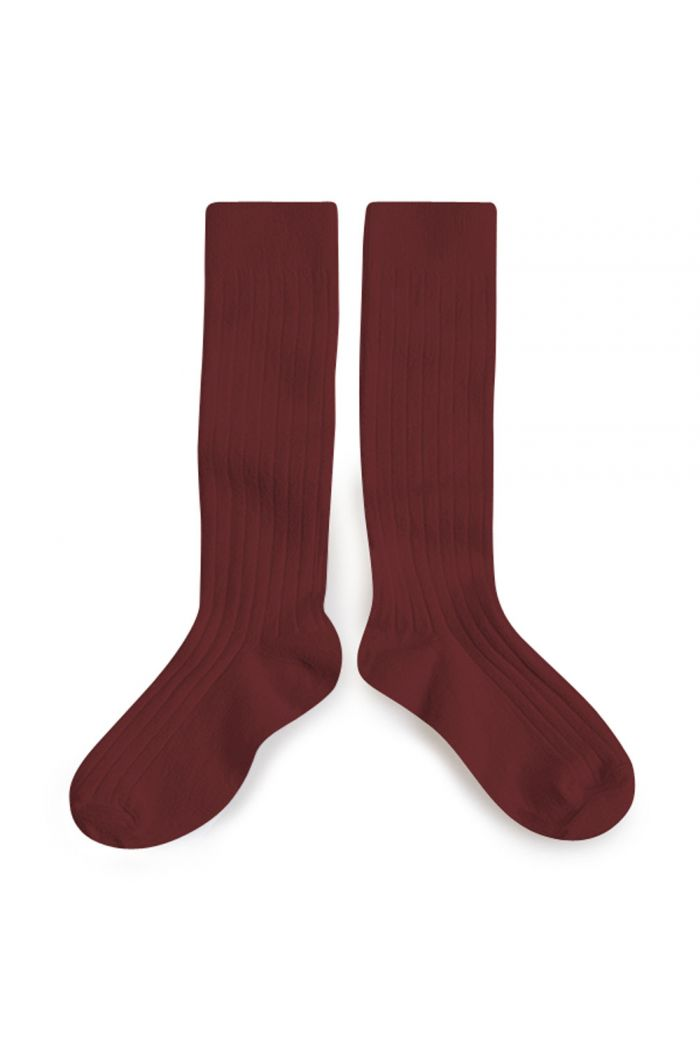 Collegien Knee High Socks Chataigne_1
