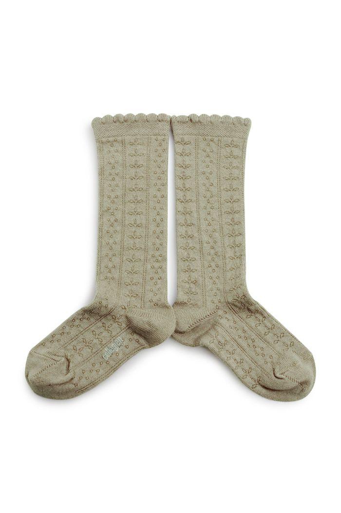 Collegien Knee High Socks Juliette Augue/Marine_1