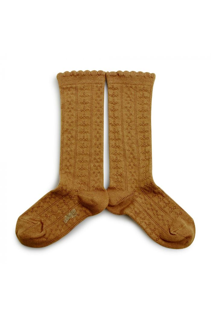 Collegien Knee High Socks Juliette Moutarde de Dijon_1