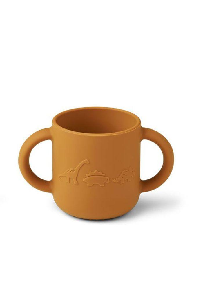Liewood Gene cup Dino Mustard