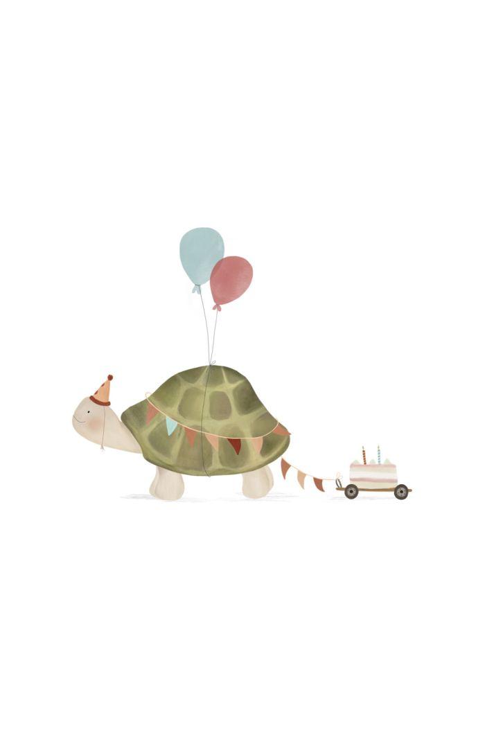 Getekenddoorzusje kaart schildpad _1