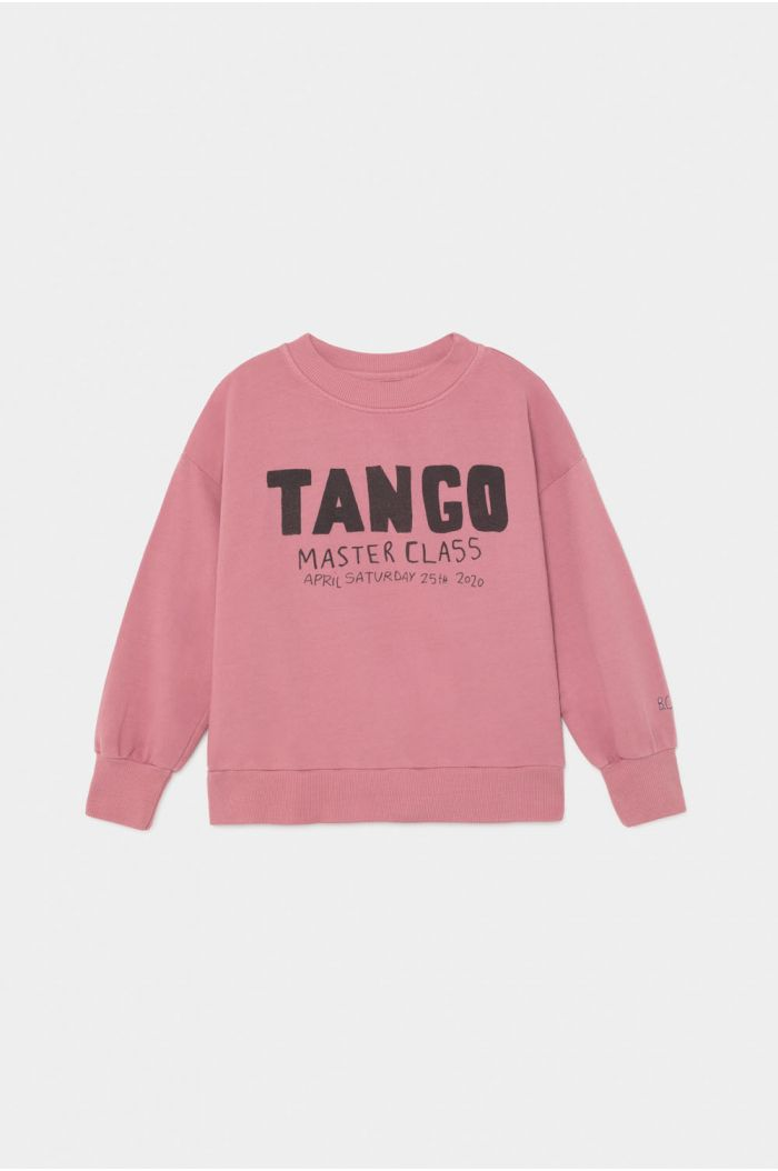 Bobo Choses Tango Sweatshirt Heather Rose
