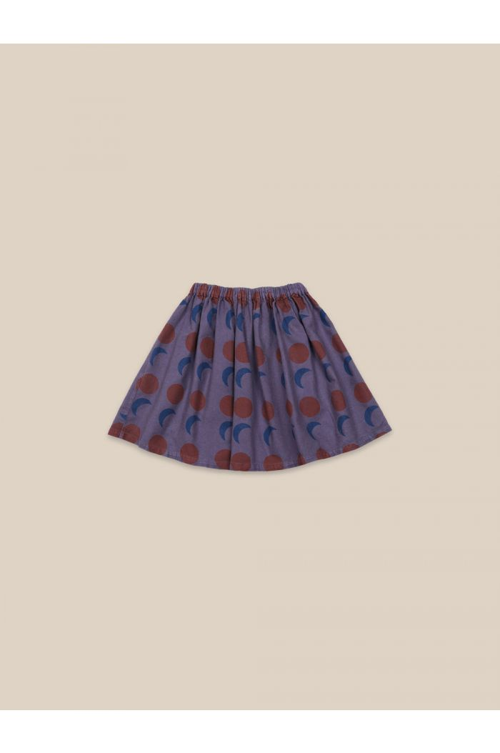 Bobo Choses Solar Eclipse Woven Skirt Grape Compote_1